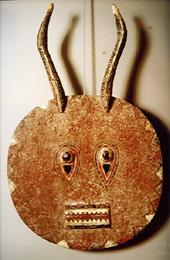 African Sun Mask