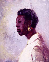 Portrait of Black Lady