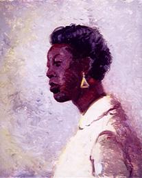 Portrait of Black Lady